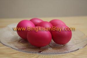 Telur Merah Bingkisan Bayi 1 Bulan