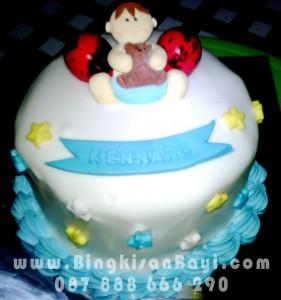 Kue Tart Bingkisan Bayi