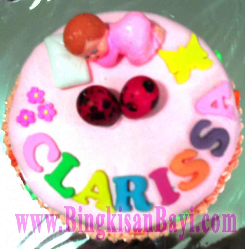 Kue Tart baby Cewek