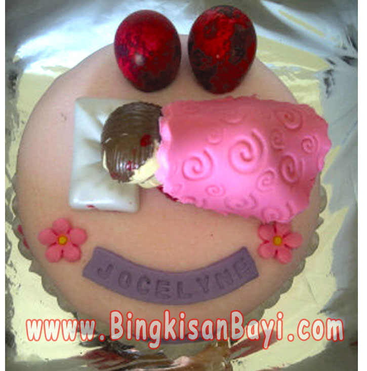 Kue Sebulanan Baby Girl 3